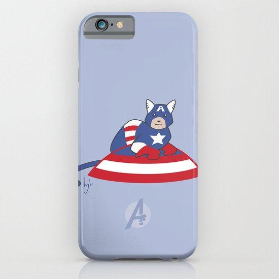 Captain AmeriCAT: The First Catvenger iPhone & iPod Case