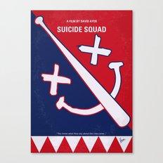 No680 My Suic Squ minimal movie poster Canvas Print