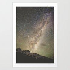 Stars Over Mount Aspirin… Art Print