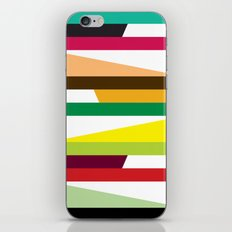 Irregular stripes #2 iPhone & iPod Skin
