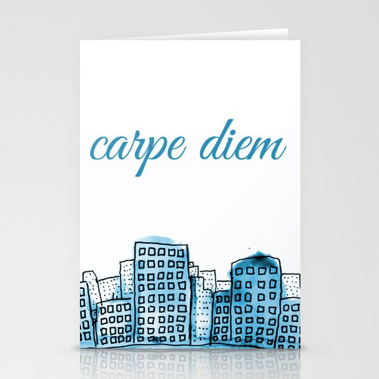 Carpe Diem Stationery Card