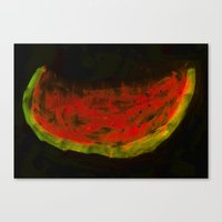 Melon Canvas Print