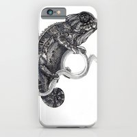 iPhone & iPod Case featuring Cameleon by Anna Tromop Illustration