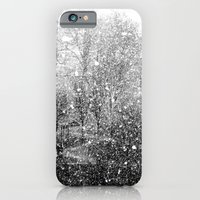 iPhone & iPod Case featuring Snow in early fall(3) by Art Pass