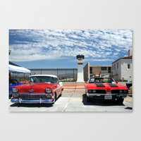 At the Car Show Canvas Print