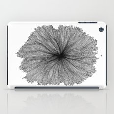 Jellyfish Flower B&W iPad Case