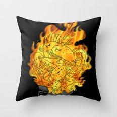 BURN YOUR FAT! Throw Pillow