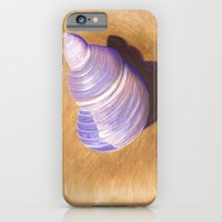 iPhone & iPod Case featuring Seashell - Painting by Nicole Cleary