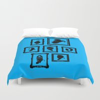 Stage Select Duvet Cover