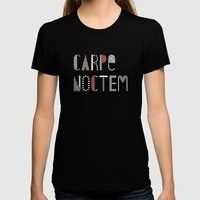 Carpe Noctem Womens Fitted Tee Black SMALL