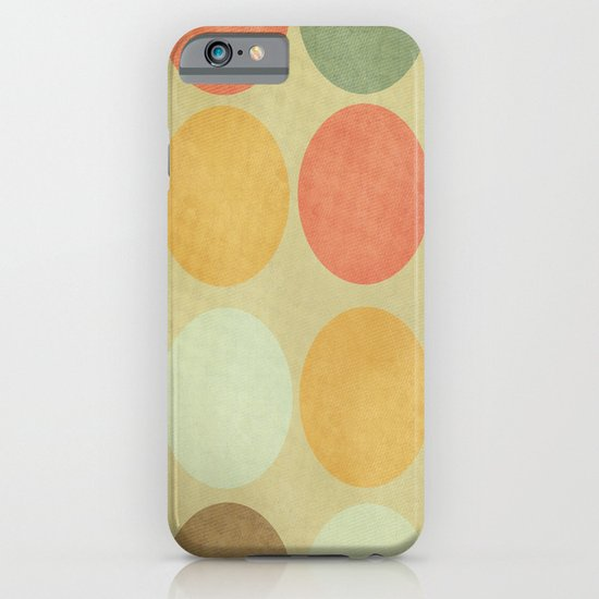 Autumn Circles  iPhone & iPod Case