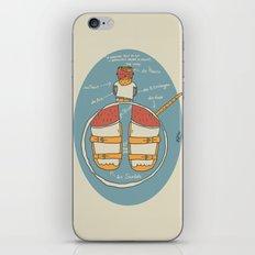 der Strumpf, die Sandale. iPhone & iPod Skin