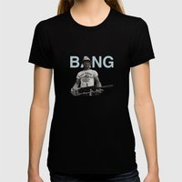 BANG Womens Fitted Tee Black SMALL