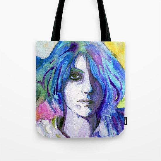 """Are We There"" by Cap Blackard Tote Bag"