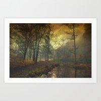 Mystical Pond Art Print