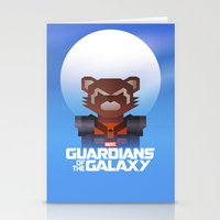 Guardians of the Galaxy - Rocket Raccoon Stationery Cards