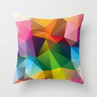 Geometric view Throw Pillow