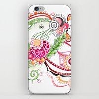 Spring tangle iPhone & iPod Skin