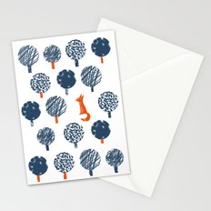Lost in the Woods ( a Fox adventure) Stationery Cards