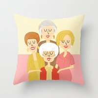 Thank You For Being A Fr… Throw Pillow