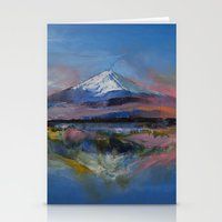 Mount Fuji Stationery Cards