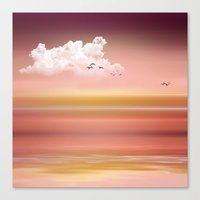 FROM DUSK TO DAWN - A Go… Canvas Print