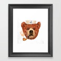 Mr.Bear Framed Art Print
