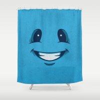 Happy Happy Shower Curtain