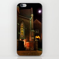 Stained Glass Starry Night iPhone & iPod Skin