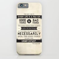 iPhone & iPod Case featuring Good Things & Bad Things by Victoria Spahn