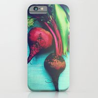iPhone & iPod Case featuring The Beet Goes On - Red Beet by Olivia Joy StClaire