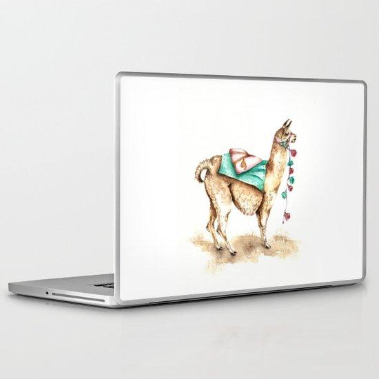 Watercolor Llama Laptop & iPad Skin