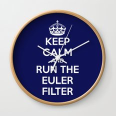 Keep Calm and Run the Euler Filter Wall Clock