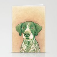 Pointer dog - Jola 02 Stationery Cards