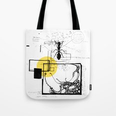 Ant In His Universe Tote Bag