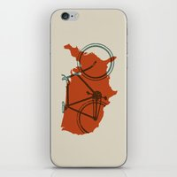 Bike America iPhone & iPod Skin