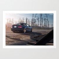 BMW 135i Art Print
