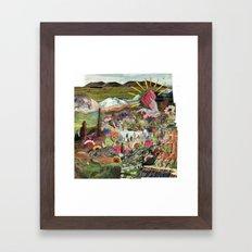 Praise the Soap Framed Art Print