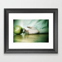 Dear Snow White Framed Art Print