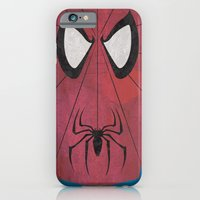 iPhone & iPod Case featuring Minimal Spiderman by Shawn P Cowan