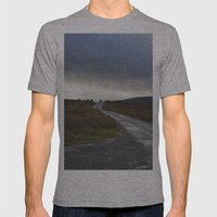 Mountain Road Mens Fitted Tee Athletic Grey SMALL