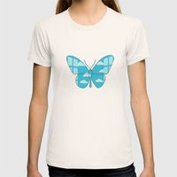 Freedom Womens Fitted Tee Natural SMALL