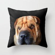 Shar Pei Throw Pillow
