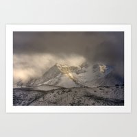The Mountain Speaks To M… Art Print