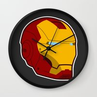 He Doesn't Play Well Wit… Wall Clock
