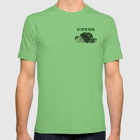 Let Me Be Weak. Mens Fitted Tee Grass SMALL