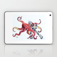 Robot Octopus Tango Date Laptop & iPad Skin