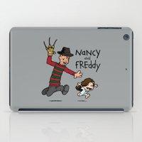 Nancy And Freddy iPad Case