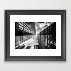 Scraping The Sky Framed Art Print