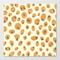 Orange range Canvas Print